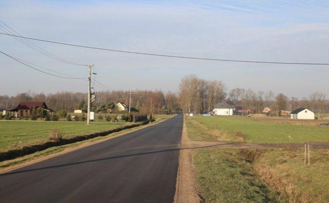 Budowa brakujących odcinków dróg asfaltowych