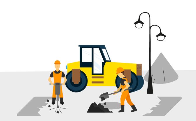 Przebudowa infrastruktury drogowej