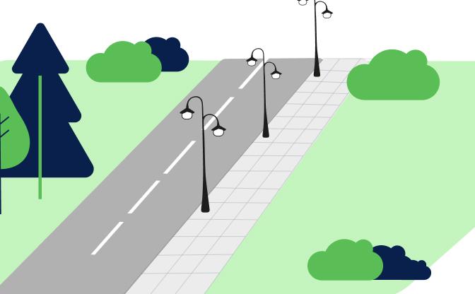 Oświetlenie ulic, placów i dróg