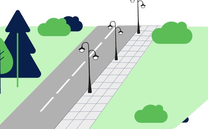 Dobudowa oświetlenia ulicznego