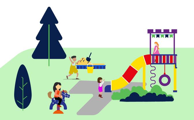 Place zabaw, rekreacja i sport