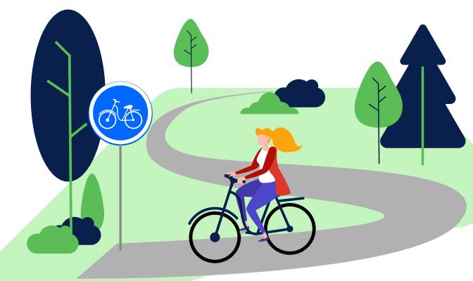 Ścieżka pieszo-rowerowa
