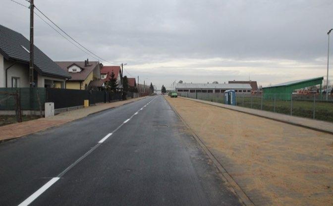 Przebudowa ulicy Dębowej