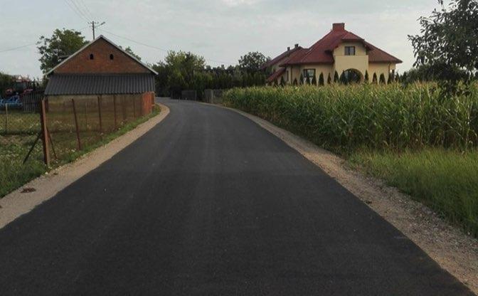 Przebudowa drogi w miejscowości Paulinowo