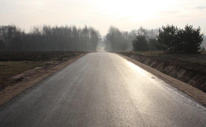 Przebudowa drogi Pniewska Górka Pniewo