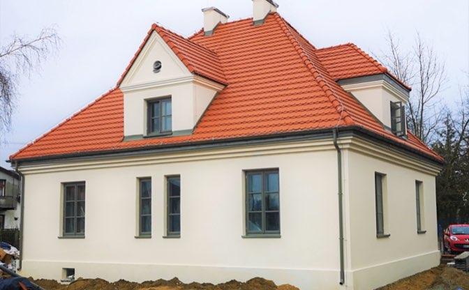 Przebudowa dawnego budynku Domu Nauczyciela