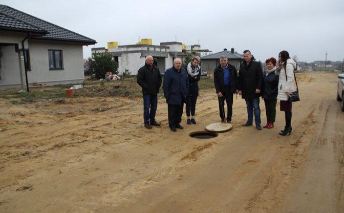 Budowa kanalizacji sanitarnej ul. Słoneczna w Nasielsku