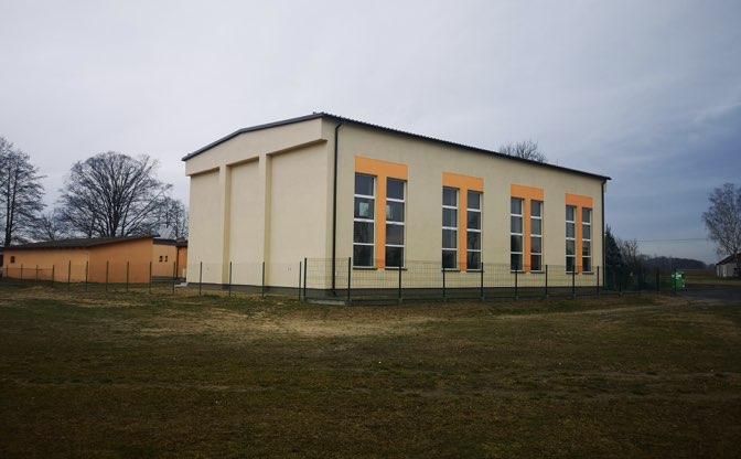 Budowa Sali gimnastycznej w Popowie Borowym