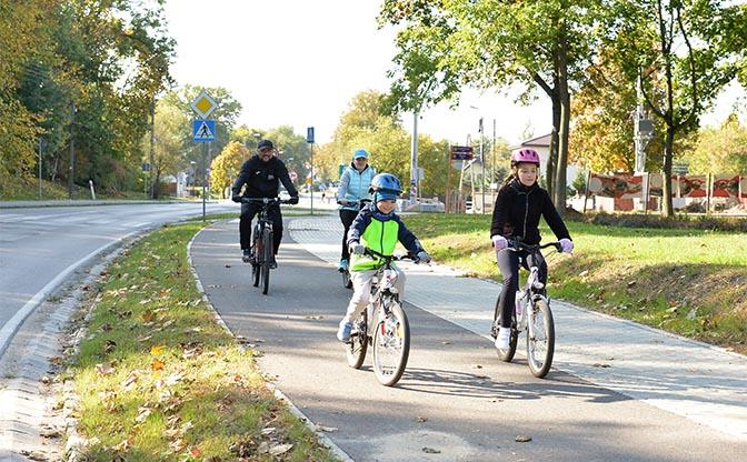 Chodniki i ścieżki rowerowe