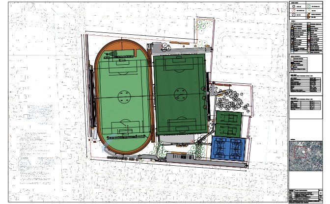 Modernizacja stadionu miejskiego w Nasielsku