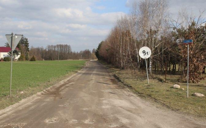 Przebudowa drogi gminnej ul Wiejska