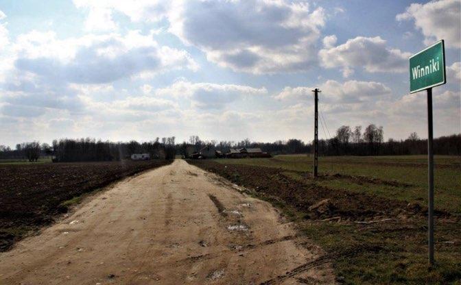 Przebudowa drogi gminnej w Winnikach